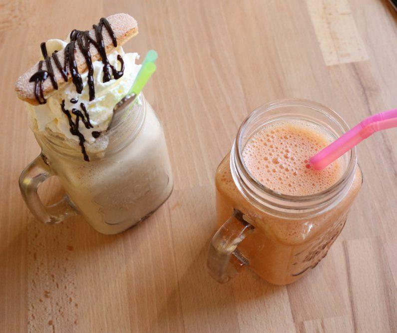 Smoothie milkshake the Blueberry Amersfoort